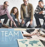 Team Teamwork Help Share Contribute Concept Stock Photography
