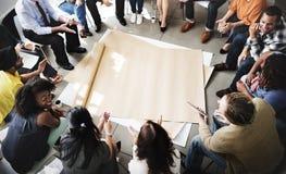 Team Teamwork Meeting Start encima del concepto fotos de archivo libres de regalías