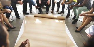 Team Teamwork Meeting Start vers le haut de concept Photos stock