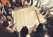 Team Teamwork Meeting Start vers le haut de concept Photo stock