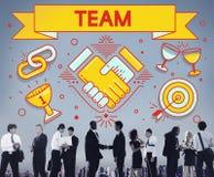 Team Teamwork Partnership Collaboration Concept Stock Photos