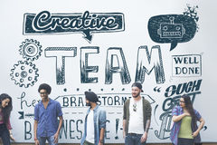 Team Teamwork Partnership Collaboration Concept Royalty Free Stock Images