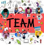 Team Teamwork Support Collaboration Togetherness Help Concept Royalty Free Stock Image