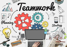 Team Teamwork Support Unity Togetherness Concept Royalty Free Stock Photos