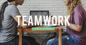 Team Teamwork Team building Synergy Empower Concept Royalty Free Stock Image