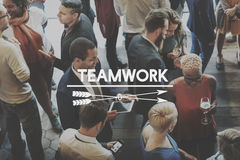 Team Teamwork Team-building Synergy Empower Concept Stock Image