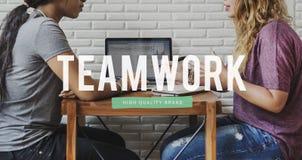 Team Teamwork Team-Gebäude Synergie bevollmächtigen Konzept Lizenzfreies Stockbild