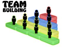 Team Teamwork Togetherness Collaboration Concept Royalty Free Stock Photography