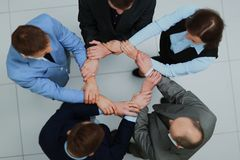Team Teamwork Togetherness Community Connections-Konzept Lizenzfreies Stockbild