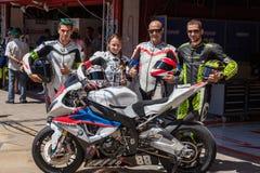 Team Tecmas Endurance Lizenzfreie Stockbilder