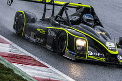 Team TFT Racing.  V de V Endurance Series. At Circuit de Barcelona. Montmelo, Spain. March 21, 2015 Royalty Free Stock Photo