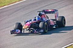 Team Toro Rosso F1, Daniel Ricciardo, 2011 Royalty Free Stock Images