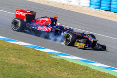 Team Toro Rosso F1, Daniel Ricciardo, 2012 Stock Photo