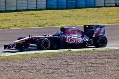 Team Toro Rosso F1, JaimeAlguersuari, 2011 Royalty Free Stock Photo