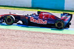 Team Toro Rosso F1, JaimeAlguersuari, 2011 Royalty Free Stock Photos