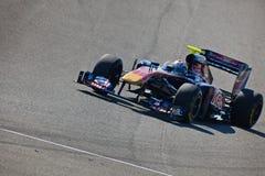 Team Toro Rosso F1, JaimeAlguersuari, 2011 Stock Photos