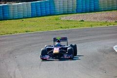 Team Toro Rosso F1, JaimeAlguersuari, 2011 Royalty Free Stock Photography