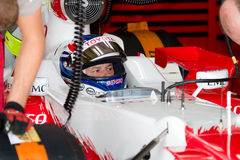 Team Toyota F1, Olivier Panis, 2006 Royalty Free Stock Image
