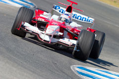 Team Toyota F1, Olivier Panis, 2006 Stock Image