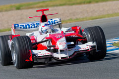Team Toyota F1, Olivier Panis, 2006 Stock Photography