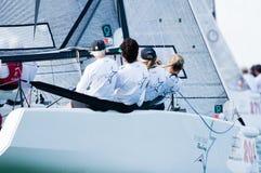 Team True Racing på Melgesen 20 världsmästerskap Royaltyfria Foton