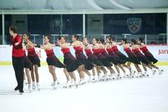 Team Turkey na linha Fotografia de Stock