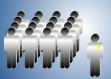 Team und Team Lizenzfreie Stockfotografie