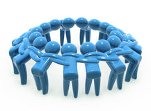 Team a unidade e a cooperação Imagem de Stock Royalty Free