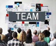 Team Up Alliance Collaboration Corporate begrepp arkivbilder