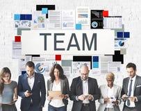 Team Up Alliance Collaboration Corporate begrepp arkivfoton
