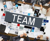 Team Up Alliance Collaboration Corporate Concept.  Royalty Free Stock Photo