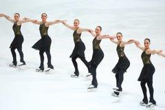 Team Usa Two na linha Imagens de Stock Royalty Free