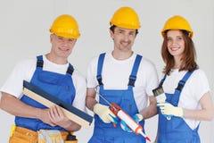 Team van Arbeiders Royalty-vrije Stock Afbeelding