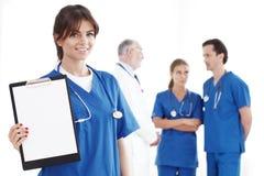 Team van artsen Stock Afbeeldingen