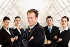 Team van bedrijfsmensen Stock Afbeeldingen