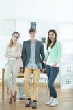 Team van creatieve ontwerpers Stock Foto