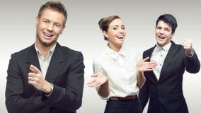 Team van jonge succesvolle bedrijfsmensen Royalty-vrije Stock Afbeelding