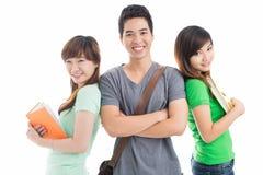 Team van studenten Stock Afbeelding