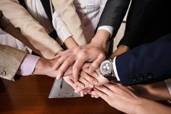 Team van zakenlieden Stock Foto's