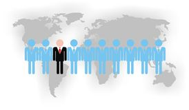 Team (Vektor) Lizenzfreies Stockfoto