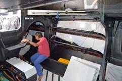 Team Vestas Wind interior Fotografía de archivo