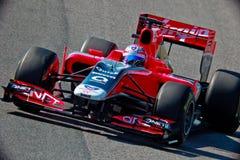 Team Virgin F1, Timo Glock, 2011 Fotografía de archivo