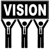 Team with a vision Royalty Free Stock Photography