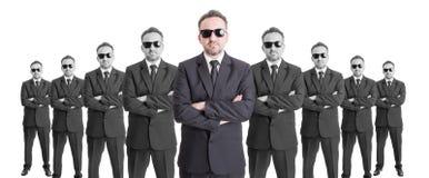 Team von confindent Geschäftsleuten Stockfotografie