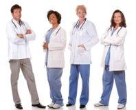 Team von Doktoren stockfotos