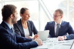 Team von Fachleuten Lizenzfreie Stockfotos