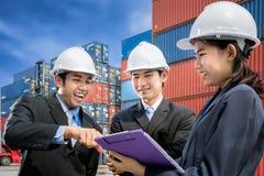 Team von jungen Wirtschaftlern Lizenzfreie Stockbilder