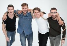 Team von verlässlichen Freunden Das Konzept der Freundschaft stockfoto