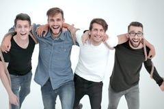 Team von verlässlichen Freunden Das Konzept der Freundschaft lizenzfreie stockfotografie