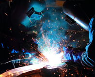 Team Welder Royalty Free Stock Photography